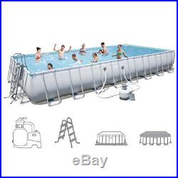 Bestway Above ground swimming pool 956x488xh132cm+pump sand+accessories 56623