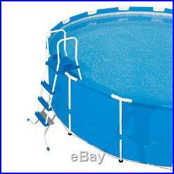 Bestway Above ground swimming pool Steel Wall 366x122cm + pump sand ladder 56285