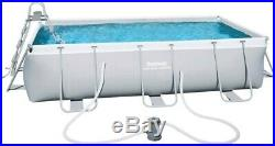 Bestway Frame Rectangular Power steel 404x201x100cm swimming above ground pool