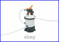 Bestway Hydrium 12ft x 48in Pool Set Above Ground Swimming Pool with Sand Filter