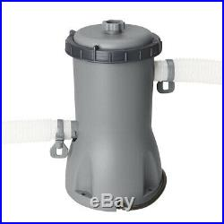 Bestway Pool Above-Ground 488x305x107 Oval Tarpaulin Pump Filter and Ladder
