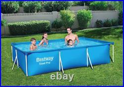 Bestway Swimming Pool 3m X 2m x 66cm Large Above Ground Frame Rectangular 3m