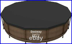 Bestway Swimming Pool Cover Steel Frame Above-Ground 12FT