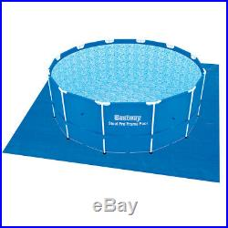 Bestway above Ground Swimming Pool Rounded 366x122cm + Pump Filter Ladder 56420