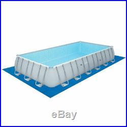 Bestway above ground swimming pool steel 732x366x132cm+pump filter ladder 56474