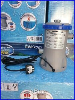 Bestway14ft Above Ground Swimming Pool Set, Includes Filter Pump, Fast Delivery