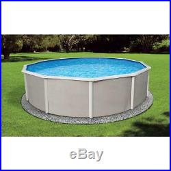 BlueWave Products ABOVE GROUND POOLS NB2534 15' x 30' Oval 52 Belize Steel Pool
