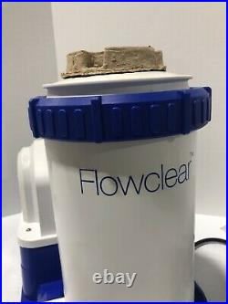 Coleman Bestway Flowclear Above Ground Pool Filter Pump 2500 GPH 90403E NEW