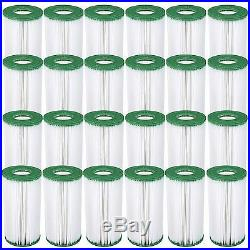 Coleman Type III, A/C 1000/1500 GPH Replacement Filter Pool Cartridge (24 Pack)