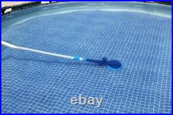 Flowclear AquaClimb Automatic Water-Powered Above Ground Pool Cleaner Vacuum Cle