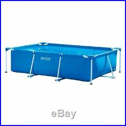 Garden Pool Above Ground Swimming Rectangular Frame Small Family Outdoor Pool