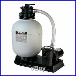 Hayward ProSeries 18-inch 1HP Top-Mount Sand Filter Power Matrix Pool Pump