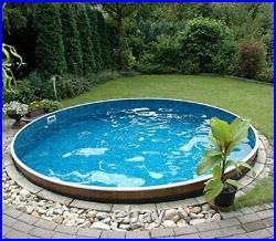 Heated 15ft Round Above Ground Swimming Pool