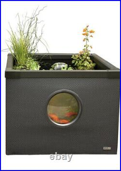Hozelock Above-Ground Pond 95 x 95 x 70cm Outdoor Aquarium Fish Tank 3085