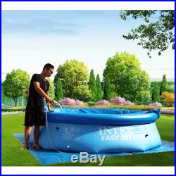 INTEX 10 ft. X 30 in. Easy Set Inflatable Above Ground Swimming Pool Model 28120