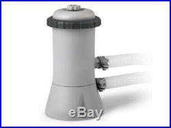 INTEX 15ft X 48 METAL FRAME ABOVE GROUND SWIM POOL SET NEW 457x122cm ROUND NEW