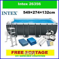 INTEX 26356 swimming pool Above Ground Pool + PUMP 549 x 274 x 132 cm