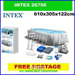 INTEX 26798 swimming pool Above Ground Pool + PUMP 610x305x122cm