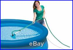 INTEX 28002 Deluxe Pool Maintenance Kit of Cleaning above Ground Set Net Vacuum