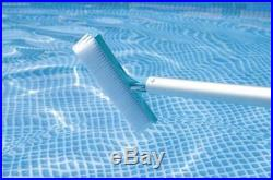 INTEX 28003 Deluxe Pool Maintenance Kit of Cleaning above Ground Set Net Vacuum