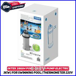 INTEX 28684 Electric Pool Water Heater For Above Ground Swimming Pool 3KW 220V