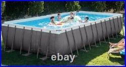 INTEX Rectangular 732 cm x 366 cm x 132 cm Deep XTR Above Ground Swimming Pool
