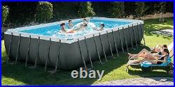 INTEX Ultra XTR 26364 24FT Swimming Pool Above Ground 732x366x132cm Brand NEW