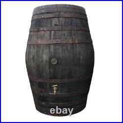 Ice Bath/Soak Tub XL rustic 500lt Old Oak Original Whisky Barrel Lid Tap