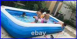 Inflatable for kids pool set padding pool above ground pool for adult