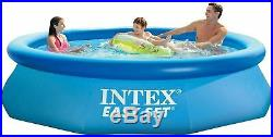 Intex 10' x 30 Easy Set Swimming Pool Above Ground Kiddie Inflatable Kid Family