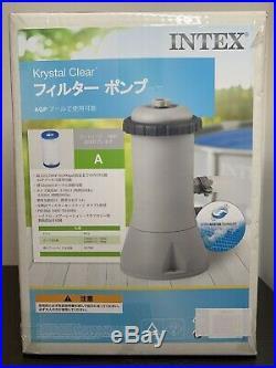 Intex 1000 GPH Easy Set Swimming Pool Cartridge Filter Pump 28637
