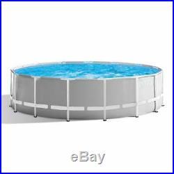 Intex 10ft x 30 Round Prism Frame Above Ground Swimming Pool 2019 version