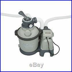 Intex 1200 GPH Krystal Clear Above Ground Pool Sand Filter Pump 28643EG-Open Box