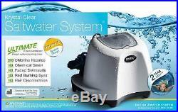 Intex 120V Krystal Clear Saltwater System Swimming Pool Chlorinator Heavy Duty