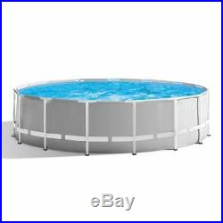 Intex 12ft x 30 Round Prism Frame Above Ground Swimming Pool 2019 version