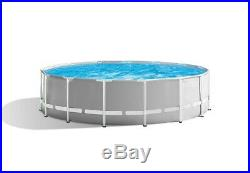 Intex 15ft X 48in Prism Frame Above Ground Pool Set