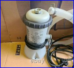 Intex 2.2Kw Above Ground Swimming Pool Heater & Filter Pump, Complete kit