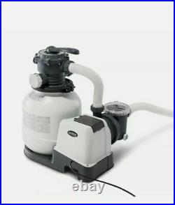 Intex 2100 GPH Sand Filter Pump For Above Ground Pools Auto Timer Factory Sealed