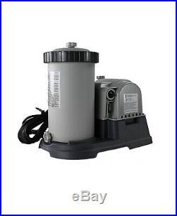 Intex 2500 GPH Krystal Clear GFCI Pool Filter Pump with Timer 633 28633EG