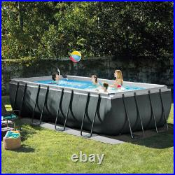 Intex 26356 Ultra XTR Frame Above Ground Pool Rectangular 549 x 274 x 132cm
