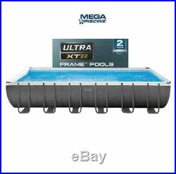 Intex 26364 24ft x 1ft x 52 Ultra Frame Above Ground Swimming Pool Sand Pump
