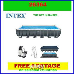Intex 26364 swimming pool Above Ground Pool + PUMP+ accessories 732x366x132cm