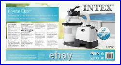 Intex 26644 Sand Filter Pump Above Ground Swimming Pool 4500l/h 1200 Gal/h