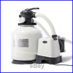 Intex 26651Eg 3000 Gph Above Ground Pool Sand Filter Pump With Automatic Timer