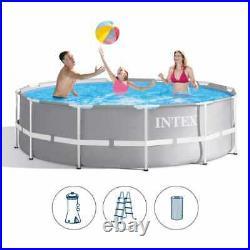 Intex 26716 Prism Frame Above Ground Round Pool 366x99cm