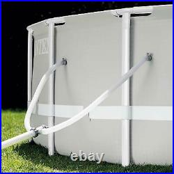 Intex 26719EH 14ft x 42in Prism Frame Above Ground Swimming Pool with Pump