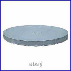 Intex 26724 15ft Grey Prism Frame Round Above Ground Pool 457 x 107 Filter Pump
