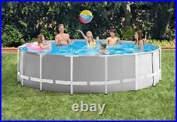 Intex 26726 ex 26736 Prism Frame Round Above Ground Pool 457x122cm