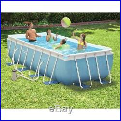 Intex 26792 ex 26778 Prism Frame Above Ground Pool Rectangular 488x244x107cm