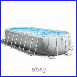 Intex 26798 Oval Above Ground Pool 610x305x122cm Prism Frame